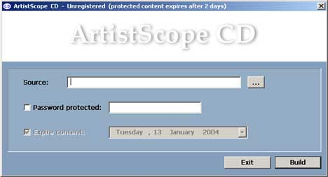 Click to view ArtistScope CD Protection screenshots