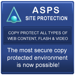 The most secure copy protection for all media displayed on web pages.