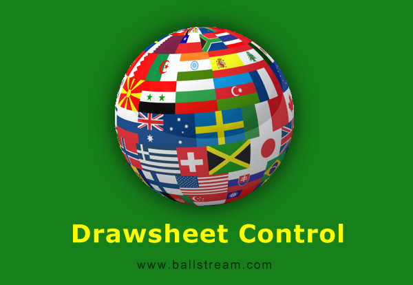 BallStream Drawsheet Control Screen shot