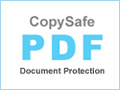 Copy protect PDF documents from all copy and save