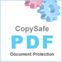 Copy protect PDF documents with secure password