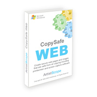 Copy protect images and web pages from all screen capture software.