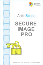 Image encryption that is supported in all web prowers on all platforms.