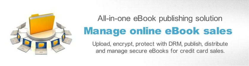 Copy protect eBooks and PDF documents with DRM options