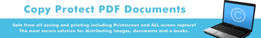 Copy protect PDF documents from Printscreen