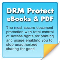DRM protect ebooks and PDF douments