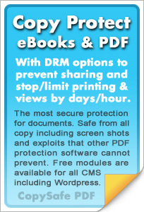 Copy protect PDF documents
