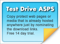 Copy protect web pages and media hosted anywhere