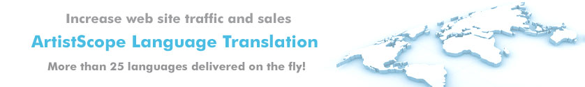 Language translation for your web site